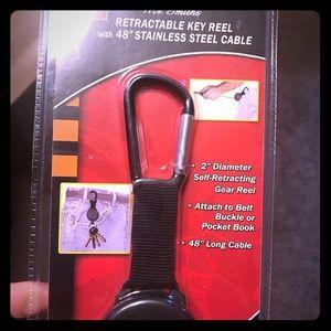 Retractable Key Reel